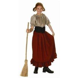 RG Costumes And Accessories Peasant Girl Child Medium 8-10 Renaissance Peasant
