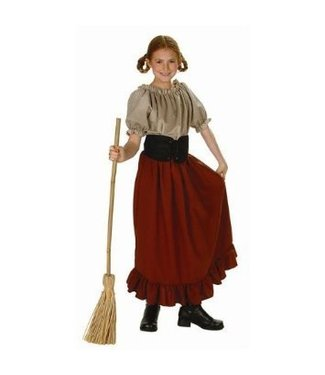 RG Costumes And Accessories Peasant Girl Child Medium 8-10 Renaissance Peasant