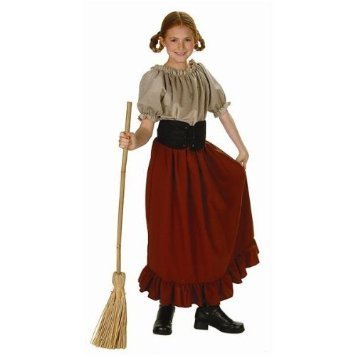 617f84b6503 RG Costumes And Accessories Peasant Girl Child Medium 8-10 Renaissance  Peasant - Ronjo Magic