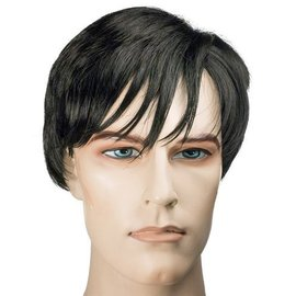Morris Costumes and Lacey Fashions Noir Shadow,  Black - Wig