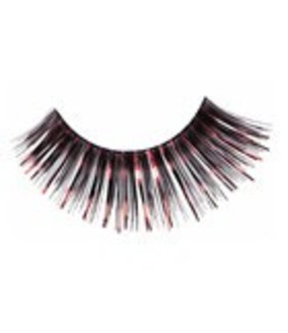 Red Cherry Eyelashes Black w/Red Mylar C212