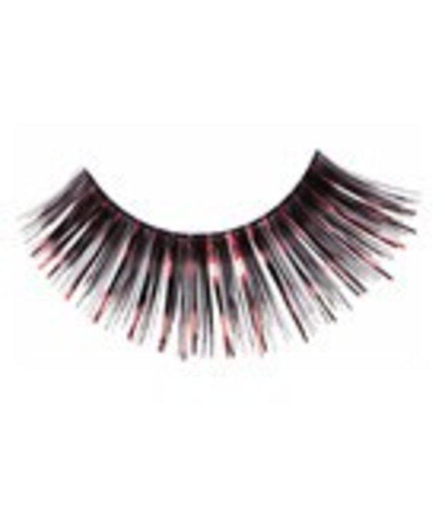 Red Cherry Eyelashes Black w/Red Mylar C212