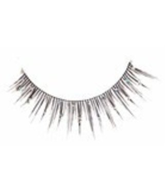 Red Cherry Eyelashes Glitter D612