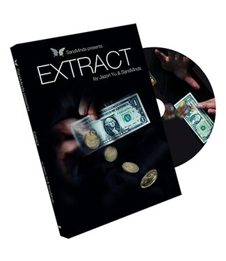 Extract (DVD and Gimmick) by Jason Yu by SansMinds Creative Lab