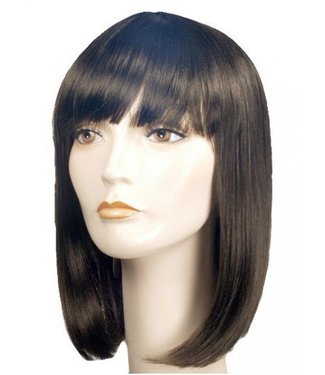 Morris Costumes and Lacey Fashions Courtney Pageboy Brown 6 Wig