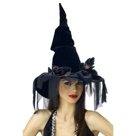 Seasonal Visions International Witch Hat  Deluxe - Winding