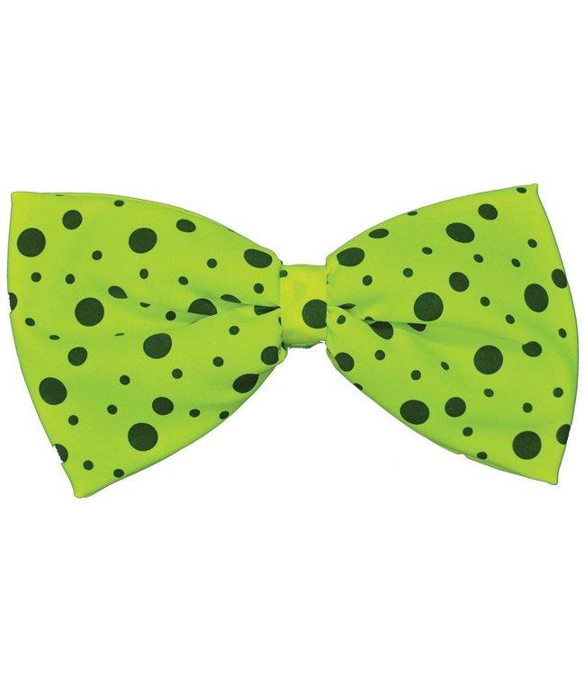 Rubies Costume Company Bow Tie, Neon Green - Jumbo