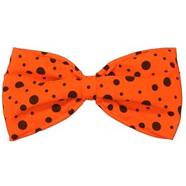Rubies Costume Company Bow Tie, Neon Orange - Jumbo
