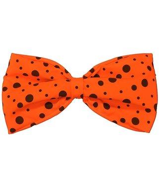 Rubies Costume Company Bow Tie, Neon Orange - Jumbo