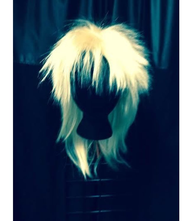Morris Costumes and Lacey Fashions Tina Champ Blonde 22 Wig