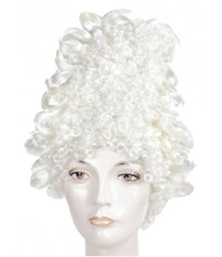 Morris Costumes and Lacey Fashions Marie Antoinette Fancy Bargain, White Wig