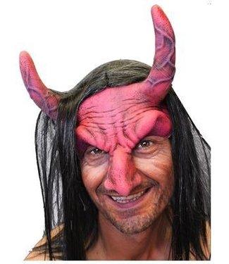 zagone studios Devil Headpiece - Red