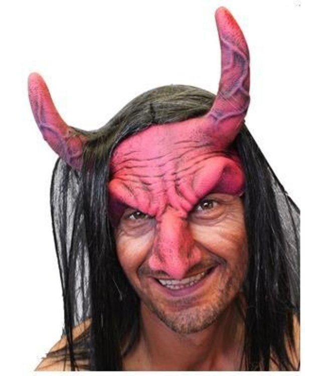 zagone studios Devil Headpiece - Red