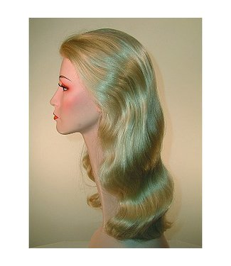 Morris Costumes and Lacey Fashions Discount Veronica Lake Blonde Wig