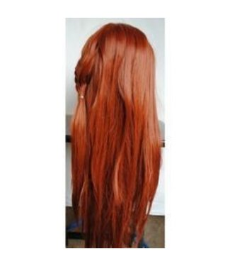 Morris Costumes and Lacey Fashions Page Wig 1417, Flame Red