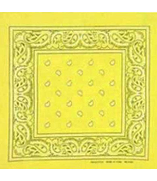 Bandana Yellow  (C4/233)