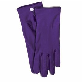 Forum Novelties Gloves Wrist, Purple - Adult