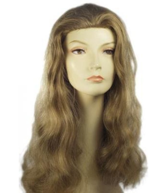 Morris Costumes and Lacey Fashions Discount Veronica Med Brown Wig