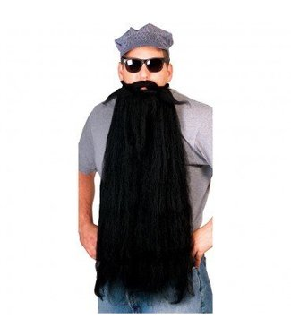Rubies Costume Company Beard And Moustache 25 inch Black