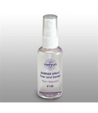 Mehron Barrier Spray - Pump Bottle 2 oz.