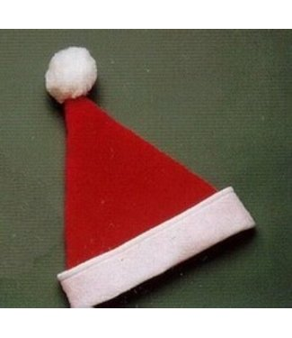 Halco Santa Hat Plush With Snowtex - Adult