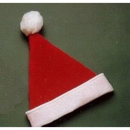 Halco Santa Hat Plush With Snowtex - Child