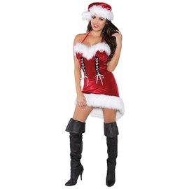 Miss Santa - Adult Medium 8-10 by Underwraps