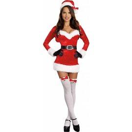 Dreamgirl Santa Baby - Adult Medium 6-10