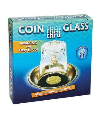 Coin Thru Glass by Vincenzo Di Fatta
