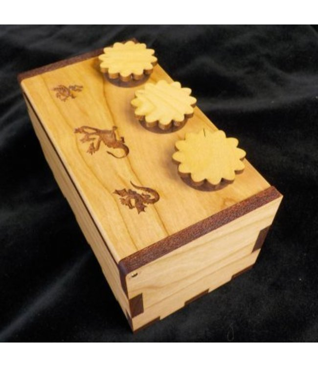 Creative Crafthouse Puzzle Box Secret Lock, Dragon by Creative Crafthouse
