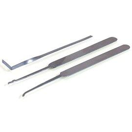 Ronjo Lock Pick Set - Turning Tool, Hook and Rake (M10/902)