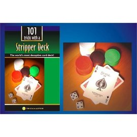 Trickmaster Magic Stripper Deck w/Book Kit - Bicycle Poker by Trickmaster Magic