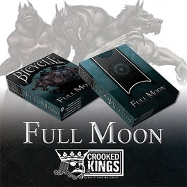 Bicycle Werewolf Full Moon Playing Cards, Standard Editionby Crooked Kings and United States Playing Card Company