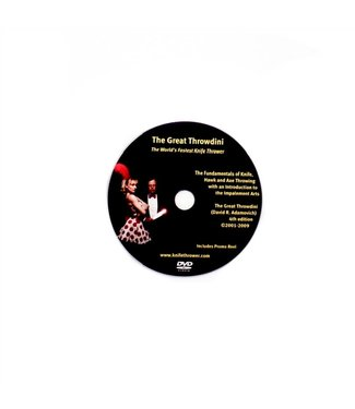 DVD -  The Great Throwdini - The World's Fastest Knife Thrower