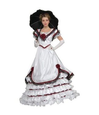 Rubies Costume Company SUPER SALE White Southern Belle - Adult Med 10-14