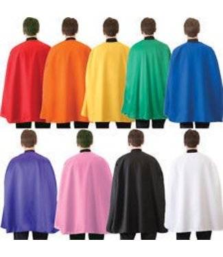 RG Costumes And Accessories Super Hero Cape 36 inch - Black
