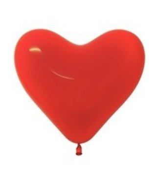 Fashion Heart Balloons, 6 inch - Red 100ct by Betallatex