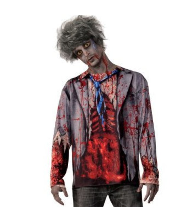 Forum Novelties Zombie Man Shirt - Adult  Size 42