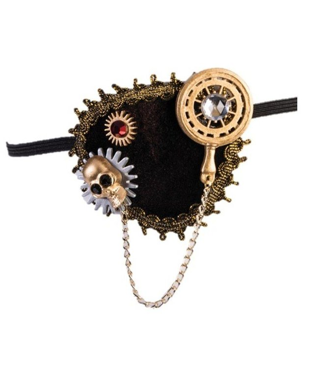 Forum Novelties Steampunk Eye Patch - Deluxe