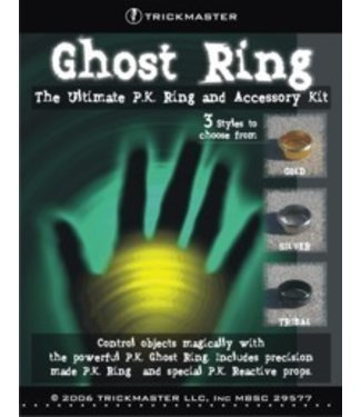 Ghost Ring - X-Large 23mm Gold by Trickmaster Magic  (M10)