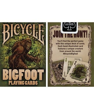 Bicycle Bigfoot Playing Cards by Crooked Kings and United States Playing Card Company
