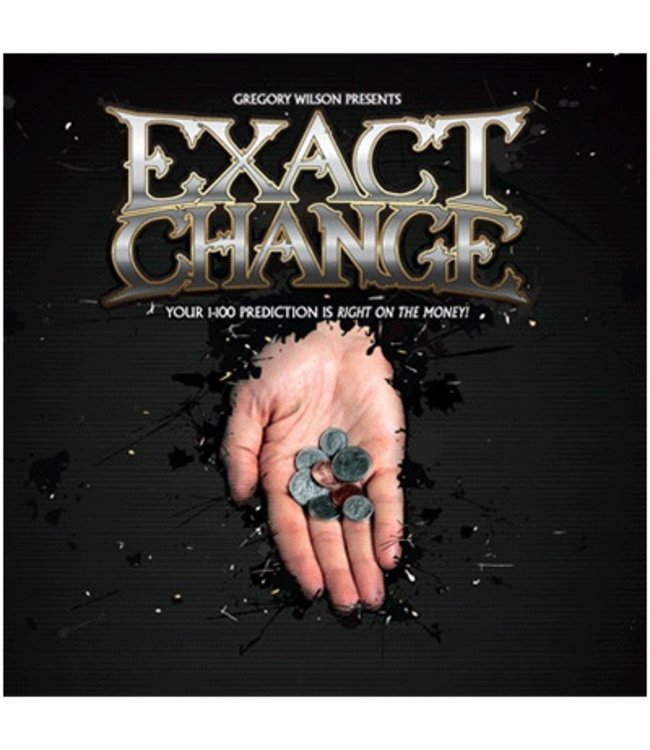 Exact Change by Gregory Wilson - Coin (M10)