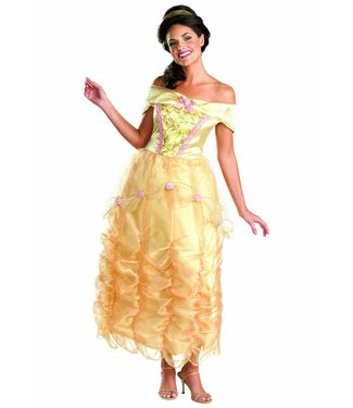 Disguise Deluxe Belle - Disney Princess SM 4-6