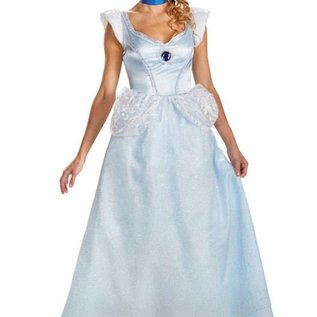 Disguise Cinderella, Deluxe - Adult Med 8-10