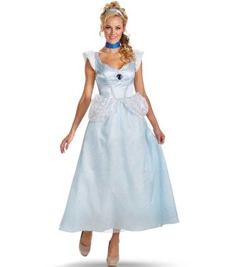 Disguise Cinderella, Deluxe - Adult Large 12-14