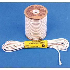 Morris Costumes Magician's Rope 50' Hank, 8mm - White by Morris Costumes (M8)