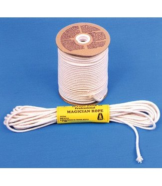 Morris Costumes and Lacey Fashions Magician's Rope 50' Hank, 8mm - White by Morris Costumes (M8)