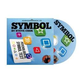Symbol, DVD and Gimmick by Steve Cook Alakazam Magic UK