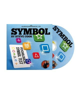Symbol, DVD and Gimmick by Steve Cook Alakazam Magic UK
