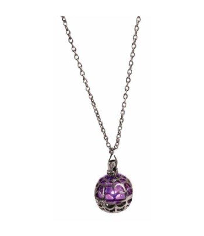 Forum Novelties Light Up Spider Web Necklace (C15)